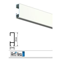 Bilderschiene Click Rail Weiß 200 cm
