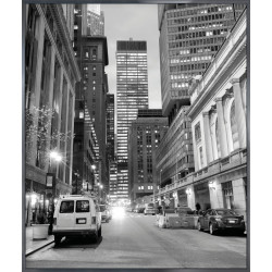 "Nielsen Gerahmtes Bild ""New York Downtown"" 50,0 x 60,0 cm"