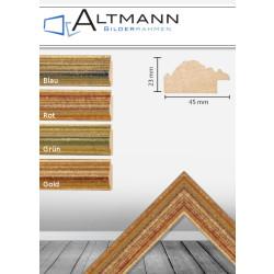 Holzbilderrahmen Saphir 45