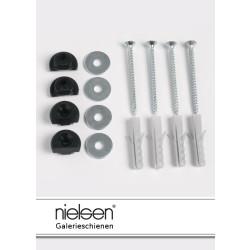 Nielsen Befestigungsmaterial für Galerieschienen