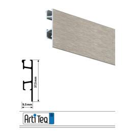 Bilderschiene Click Rail Pro Alu gebürstet 200 cm