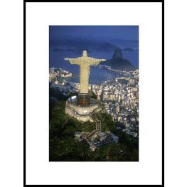 "Nielsen Gerahmtes Bild ""Cristo Redentor"" 60,0 x 80,0 cm"