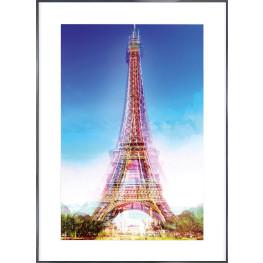 "Nielsen Gerahmtes Bild ""Eiffelturm"" 84,1 x 118,9 cm"